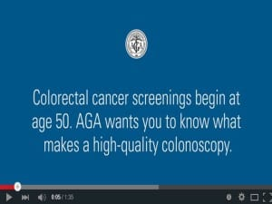 AGA What makes a high quality colonoscopy
