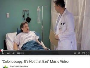 StopColonCancerNow colonoscopy- it's not that bad
